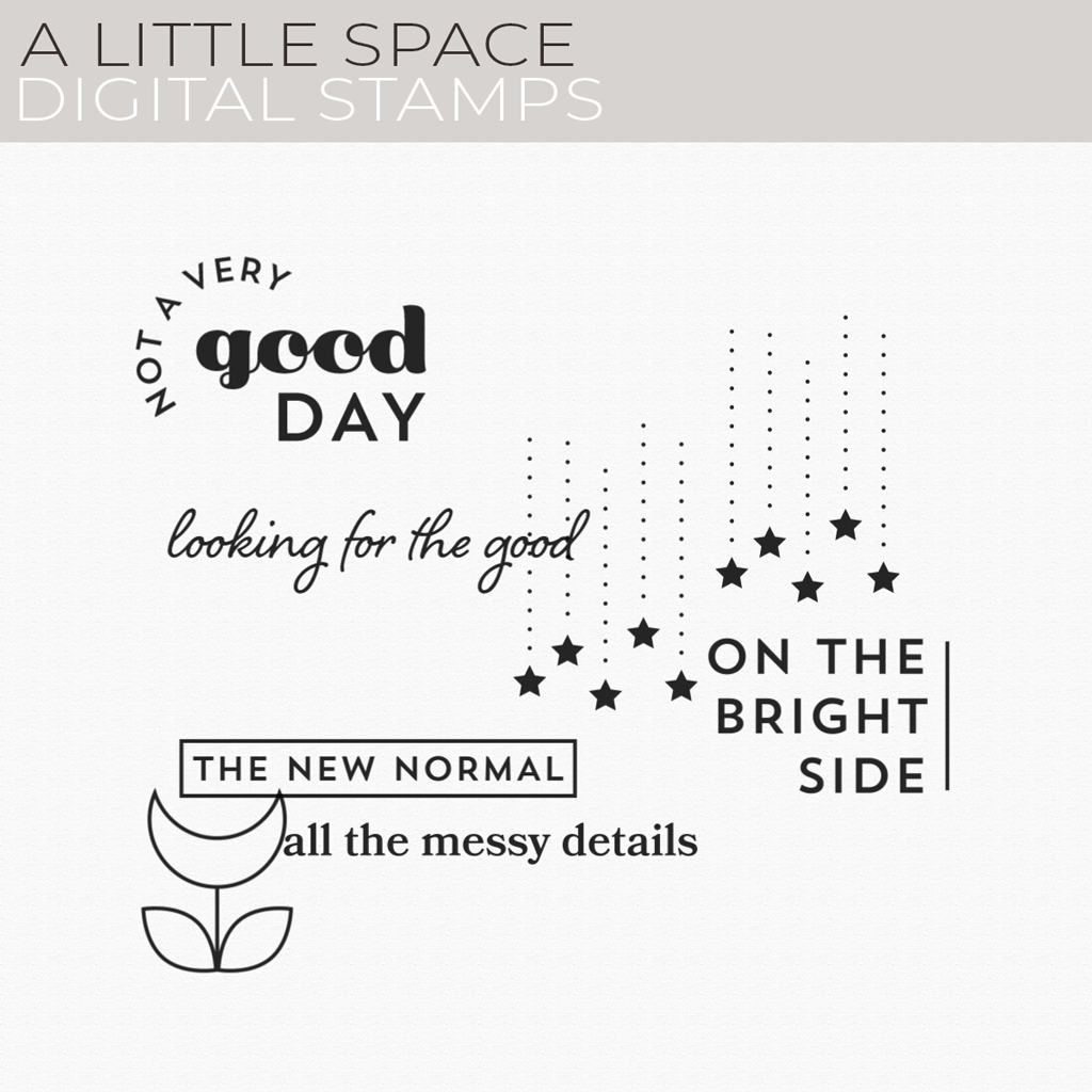 A Little Space Digital Stamps