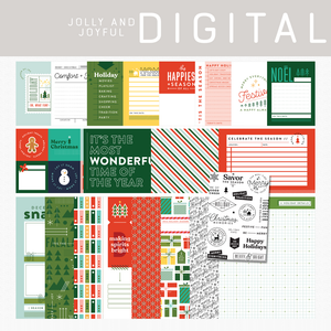 Jolly and Joyful Digital Kit