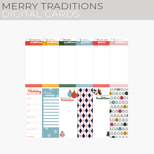 Merry Traditions Digital Cards