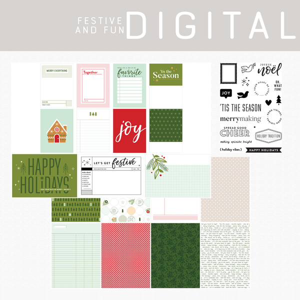 Festive and Fun Digital Kit