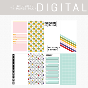 Highlights Digital Papers