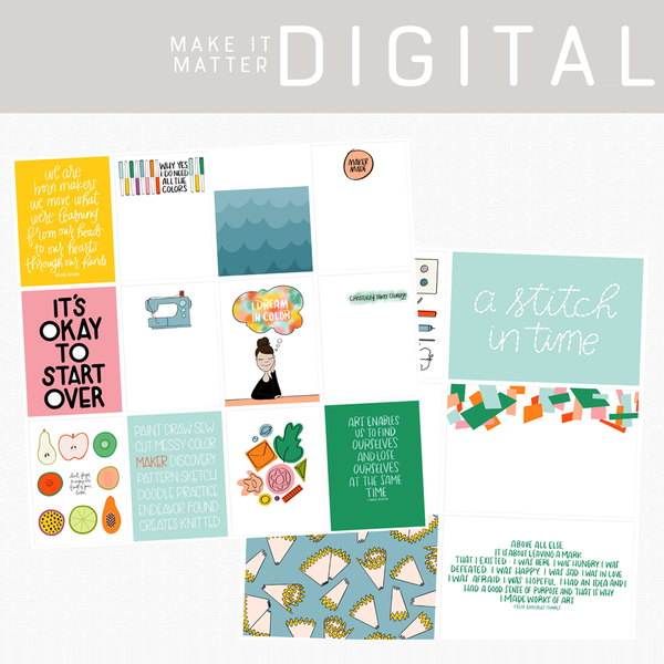 Make It Matter Digital Cards