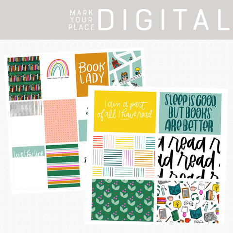 Mark Your Place Digital Cards