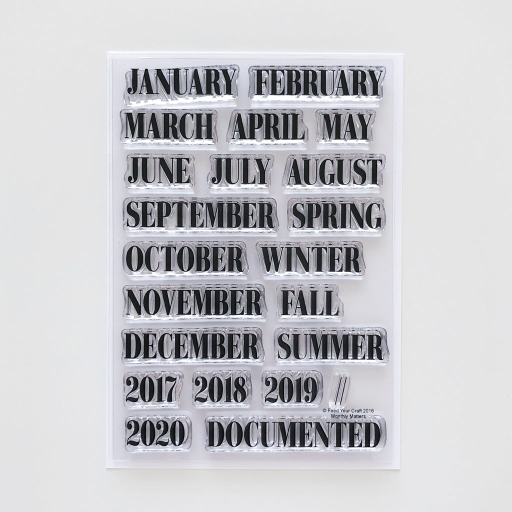 Monthly Matters Stamp