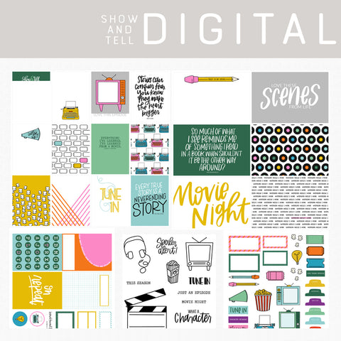 Show and Tell Digital Kit