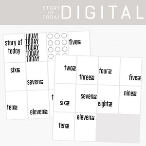 Story of Today Digital Cards