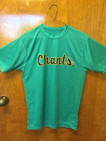 Coastal Carolina Augusta Teal Chants Wicking Tee Shirt