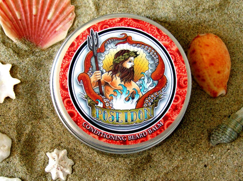 Poseidon - Beard Balm - Citrus Grove Blend (50g) - Poseidon Natural Beard Care Products