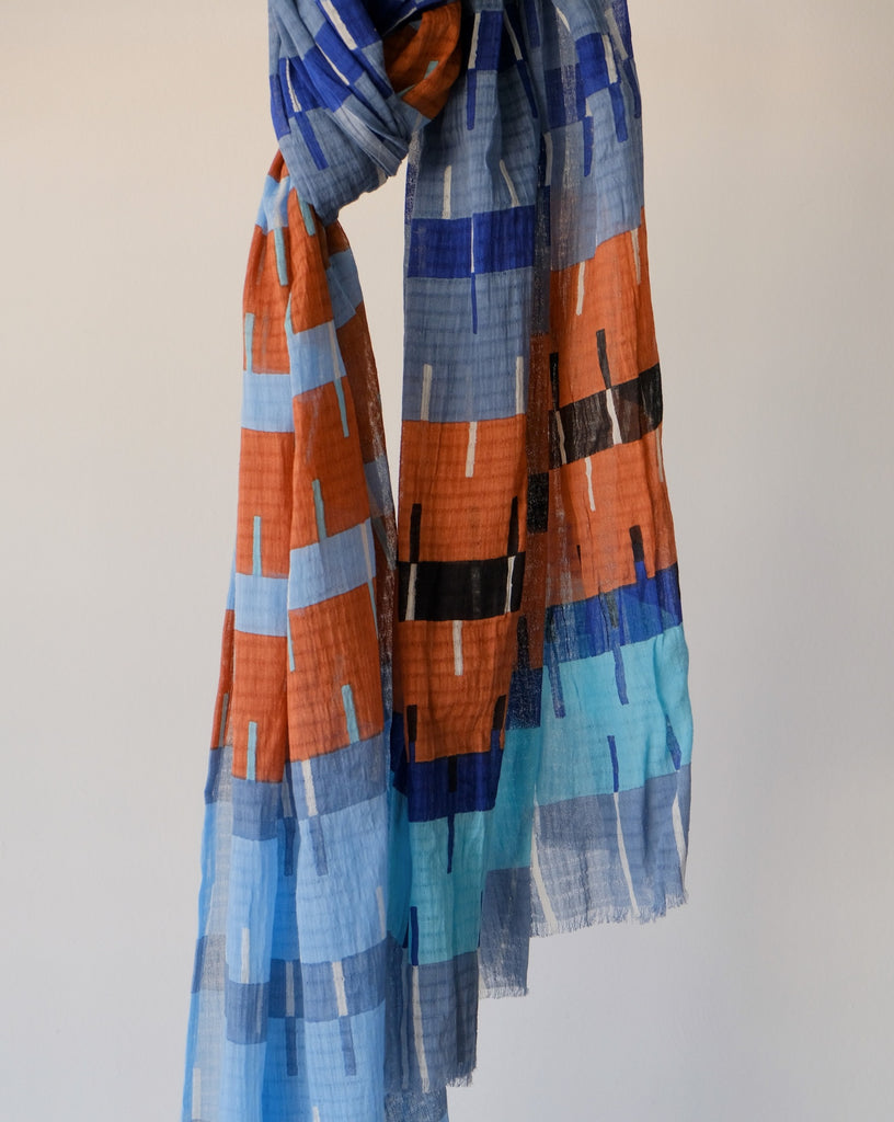 Printed multi scarf - Epice
