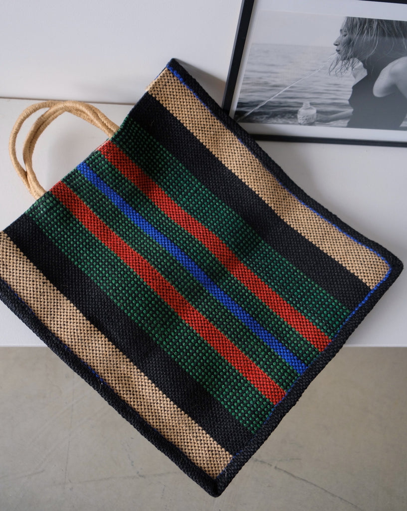 Green tote bag - Maison Bengal