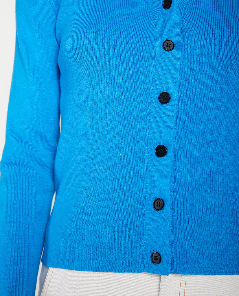 Recycle Cardi Blue