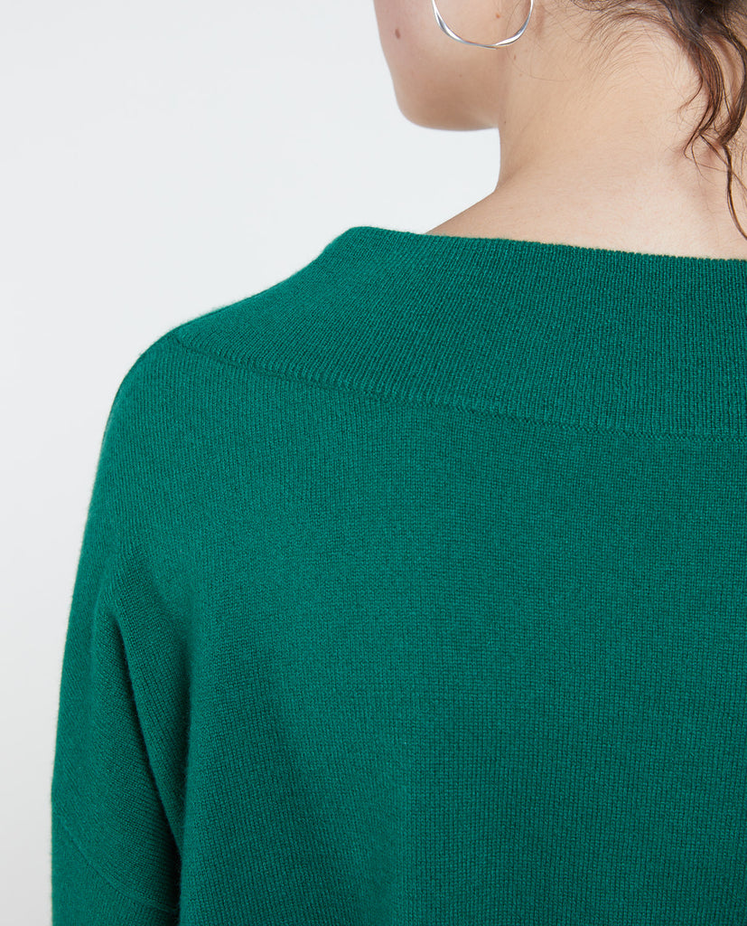 Luxe Pull 19A Green