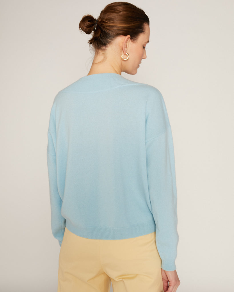 Luxe Pull 21p Light blue