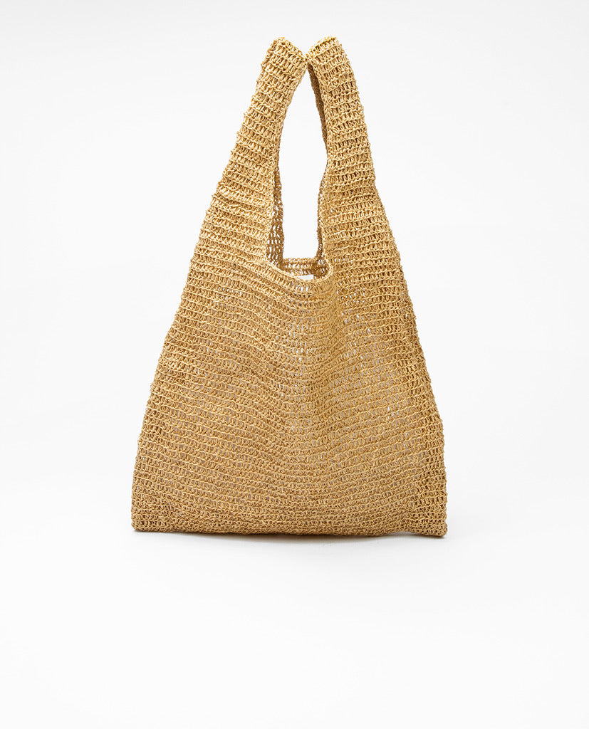 Natural shoulder bag - Karakoram