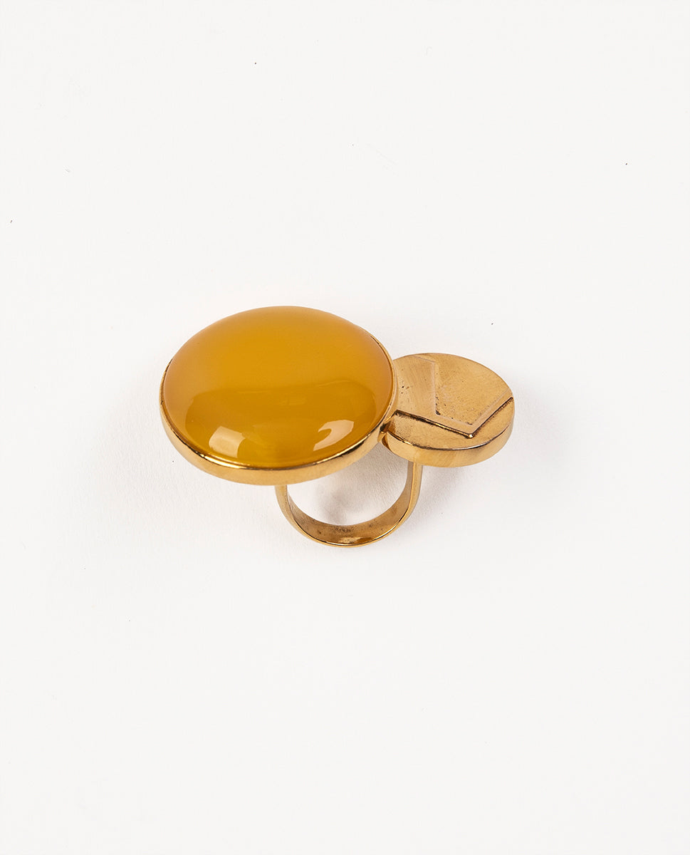 Yellow and gold ring - Wouters & Hendrix