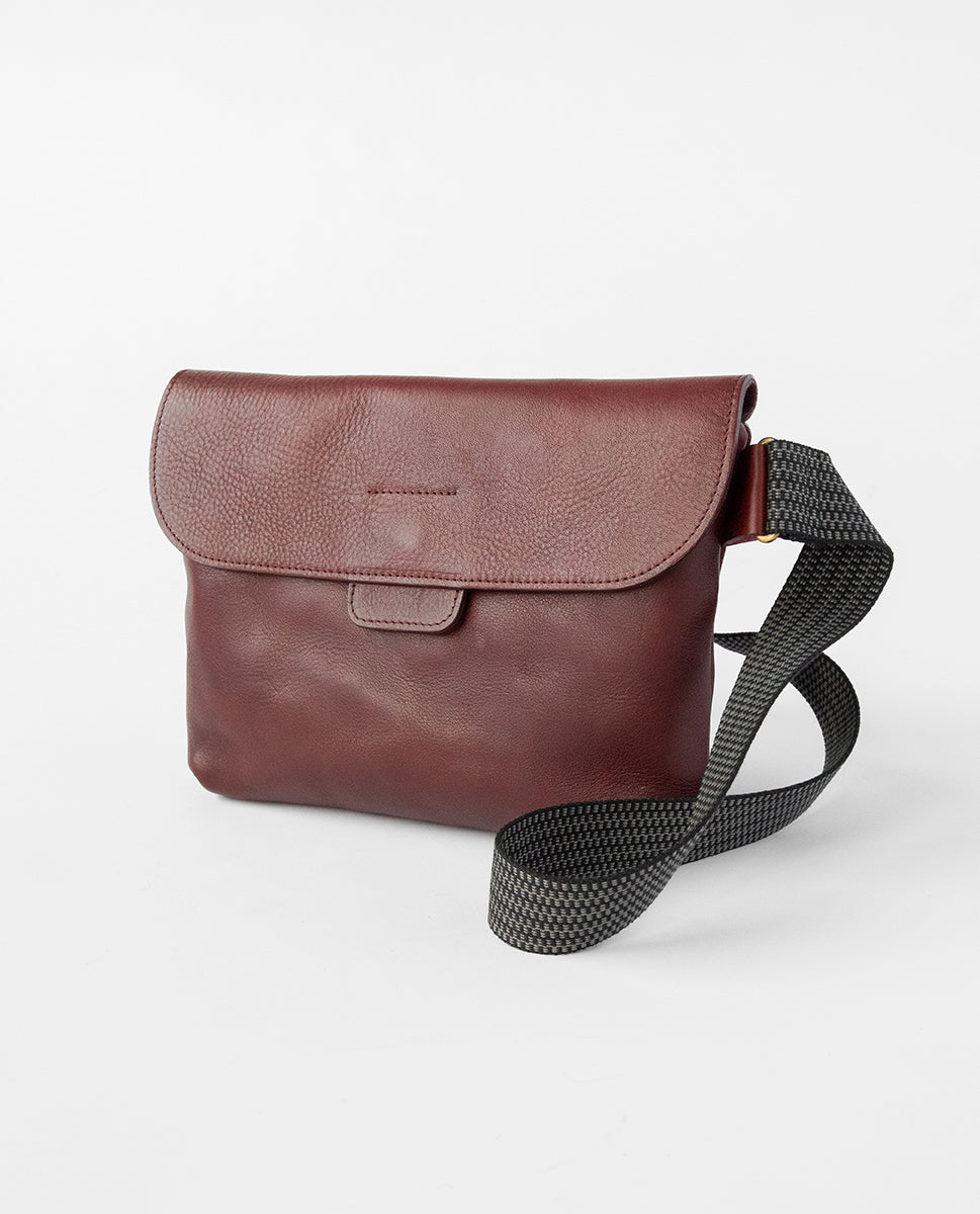 Apex bag burgundy - Kate Sheridan