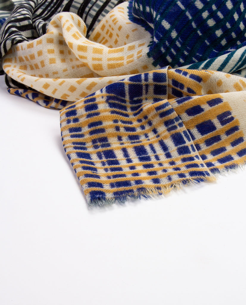 Printed scarf - Khadi & Co