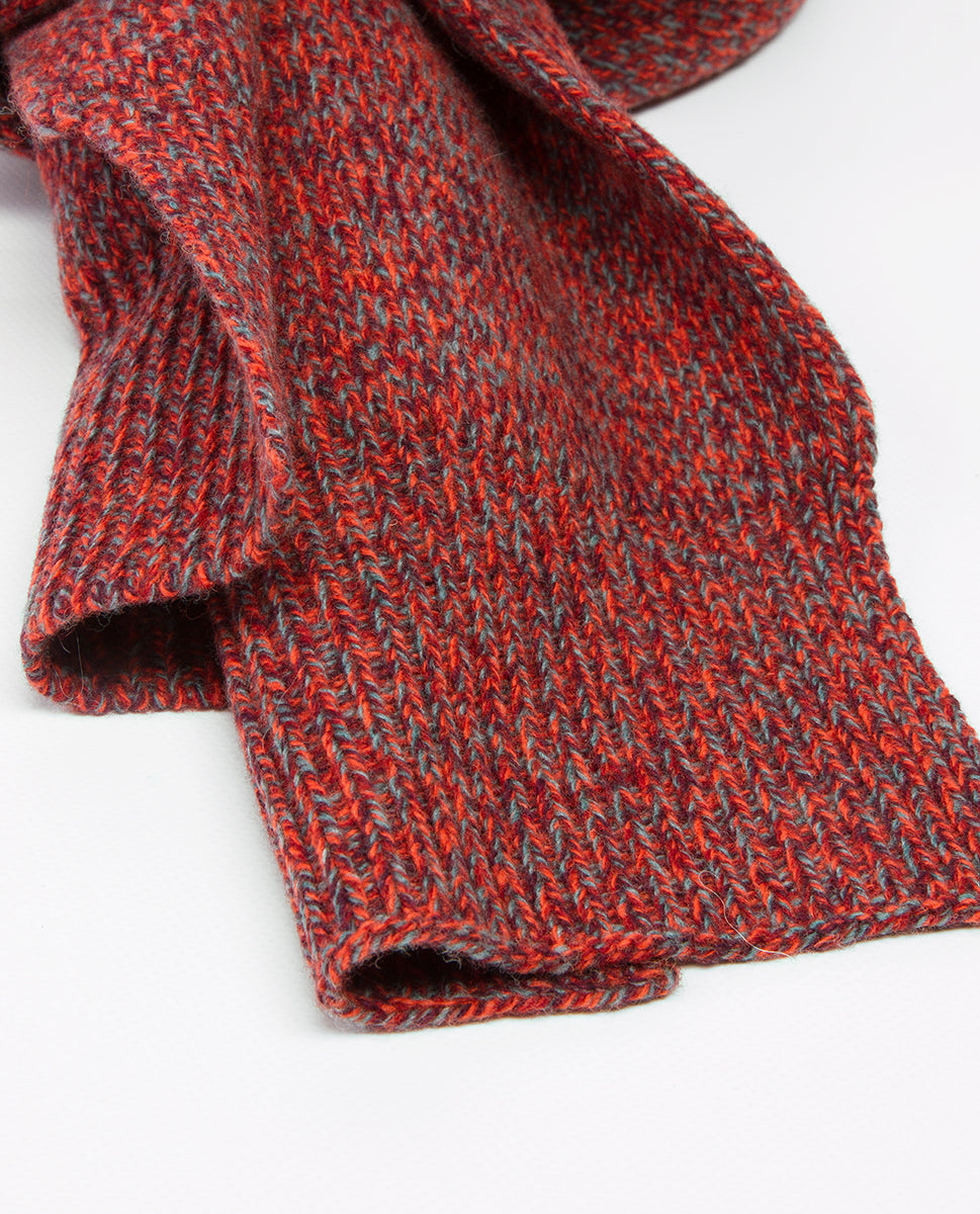 Twill Scarf Red