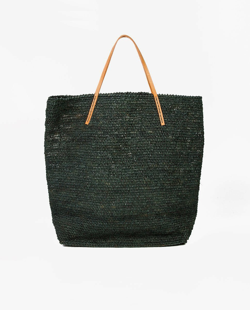 Rafia tote bag - Sans Arcidet