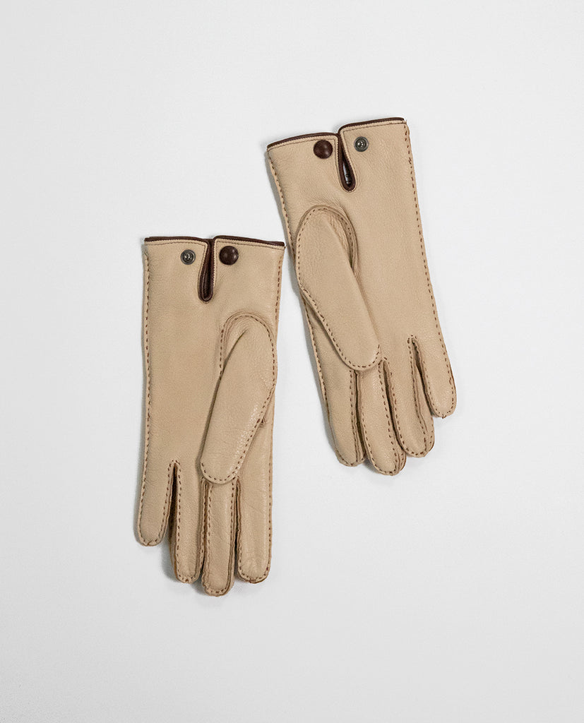 Leather gloves Tan - Rue Blanche