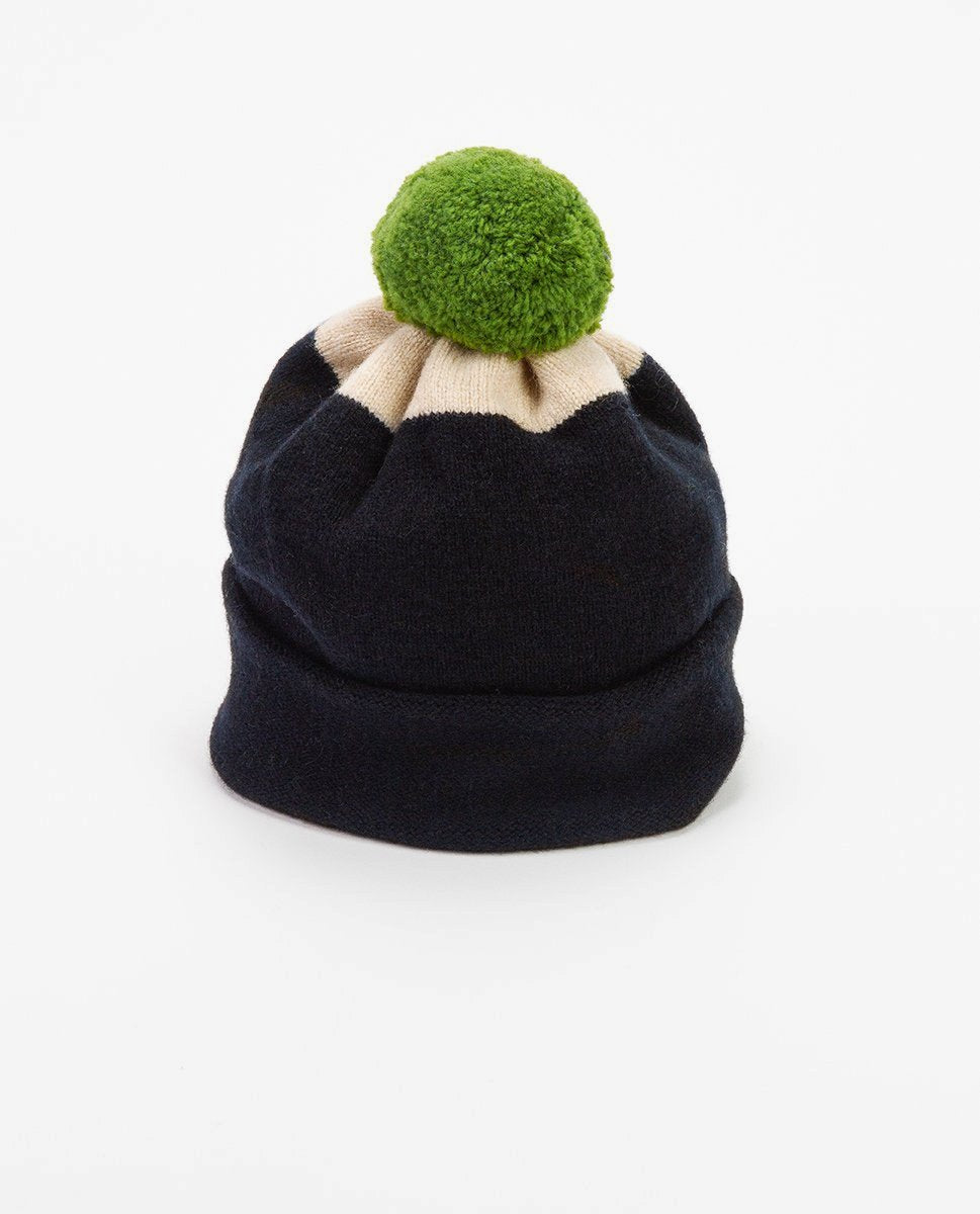 Wool hat black - Jo Gordon