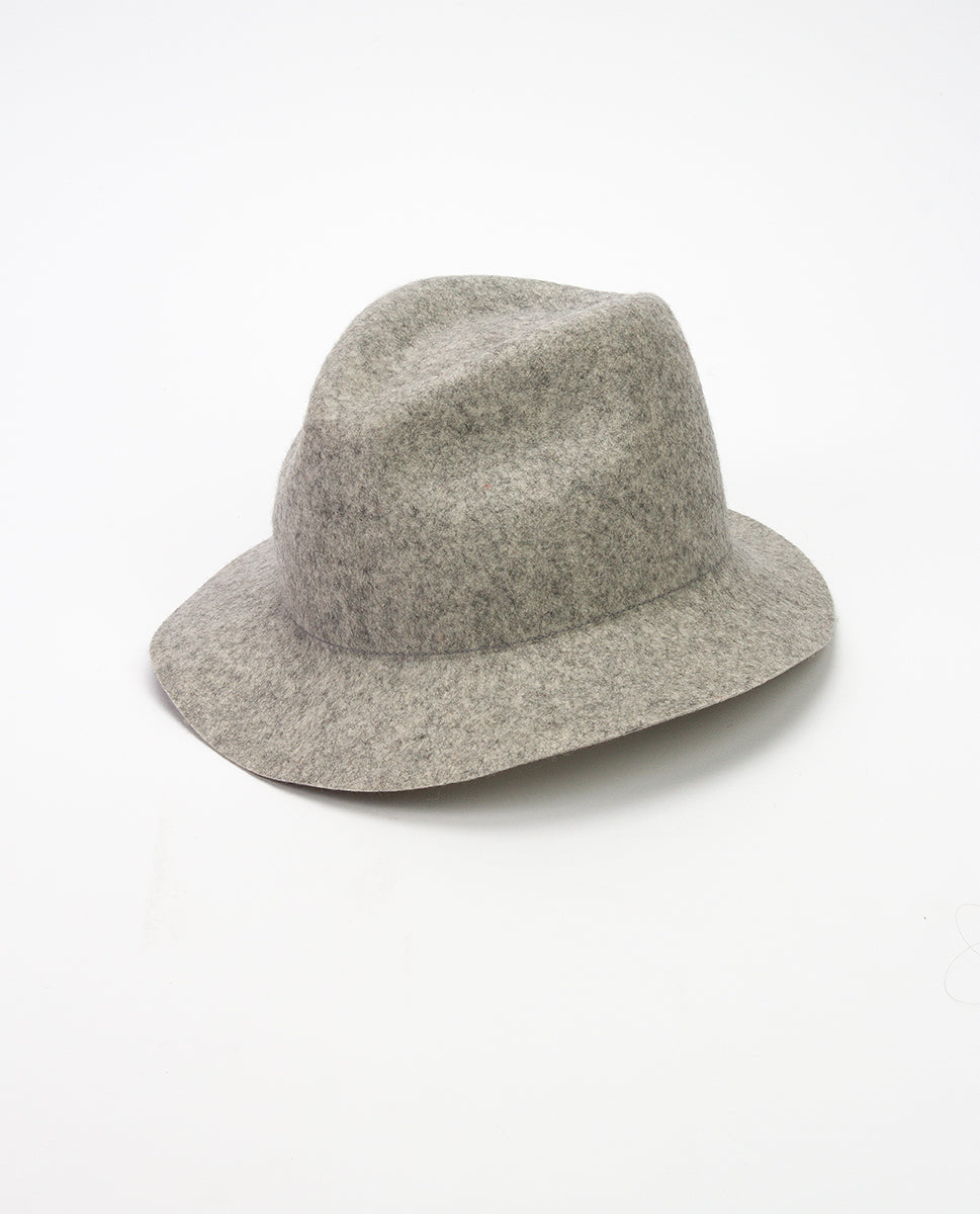 Wool hat grey - Bronté amsterdam