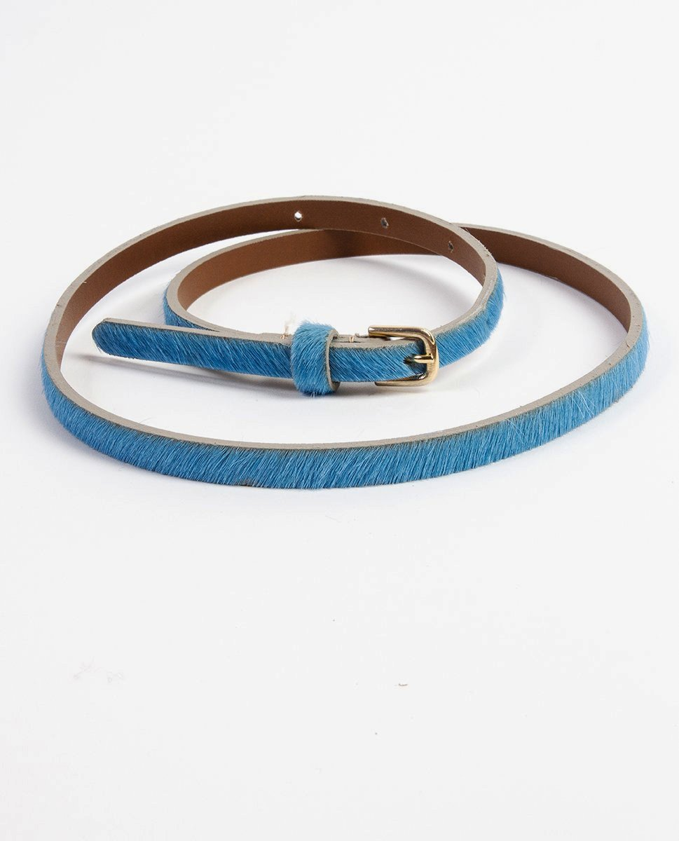 Hairy belt blue - Rue Blanche