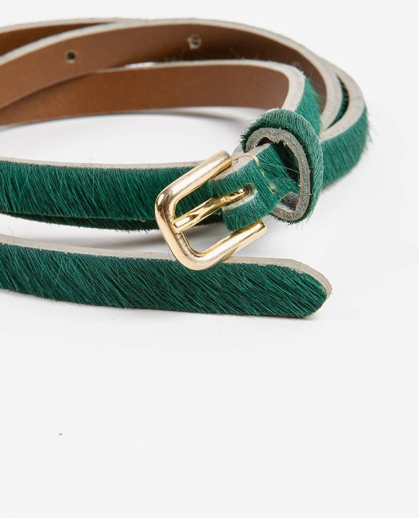 Hairy belt green - Rue Blanche