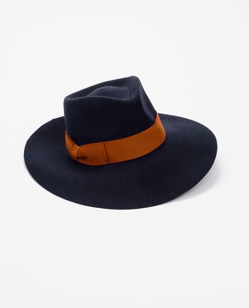 Wool hat navy - Bronté