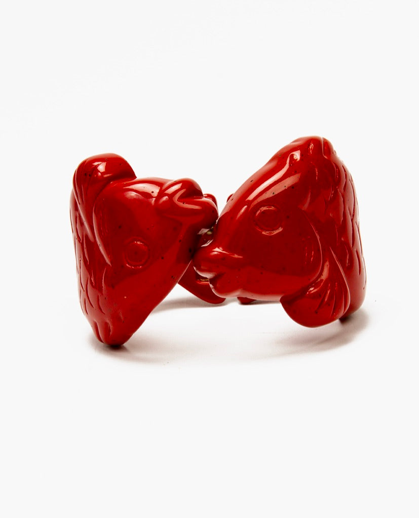 Red fish bracelet - Angela Caputi