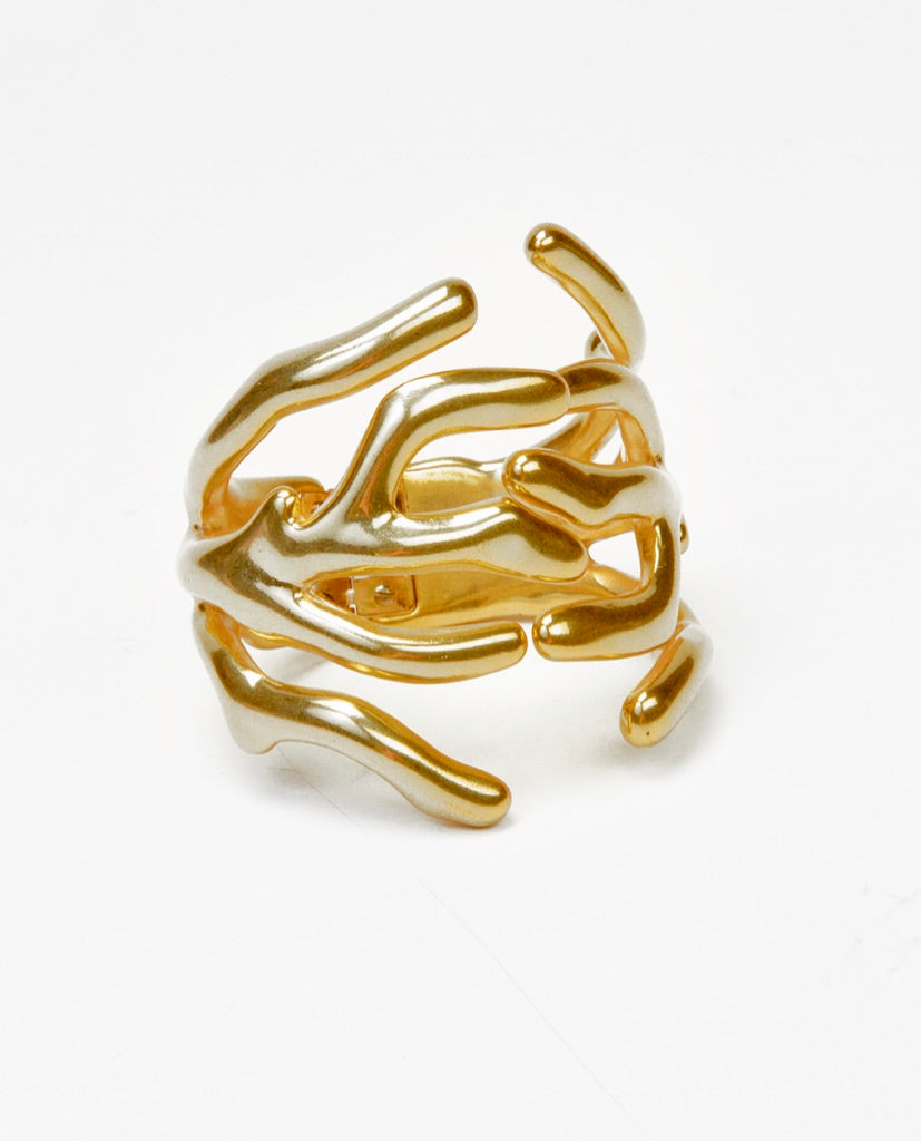 Golden branches bracelet - Angela Caputi