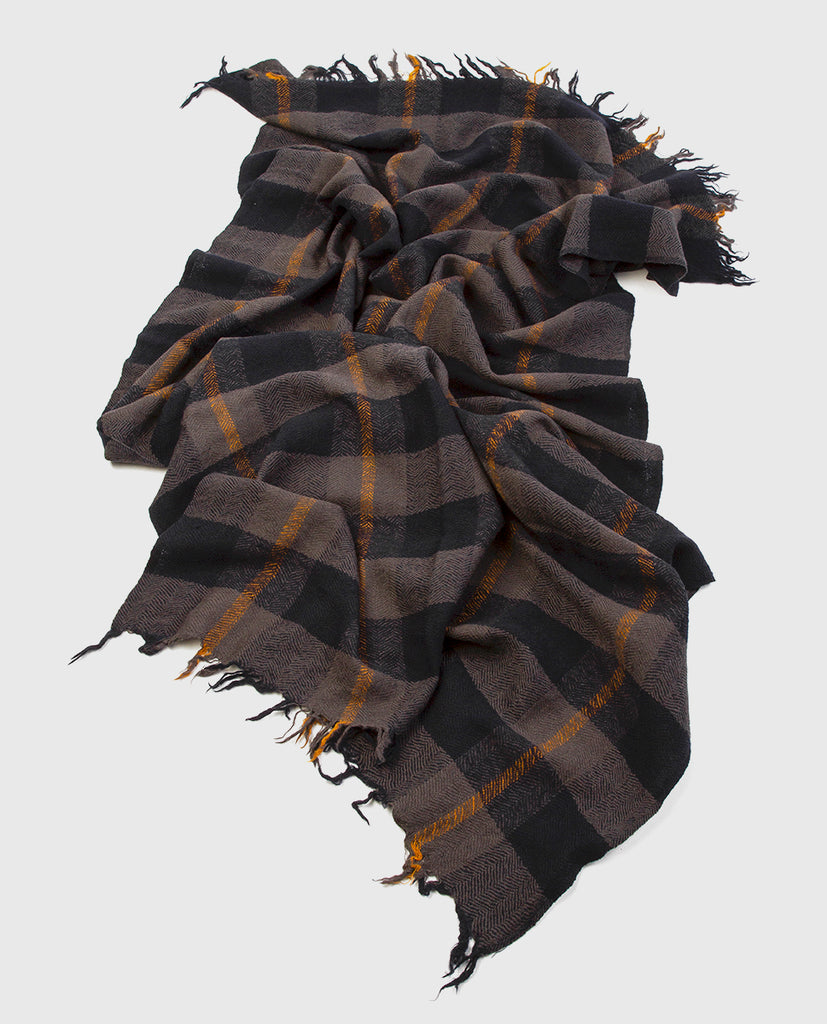 navy blue scarf - Lovat & Green