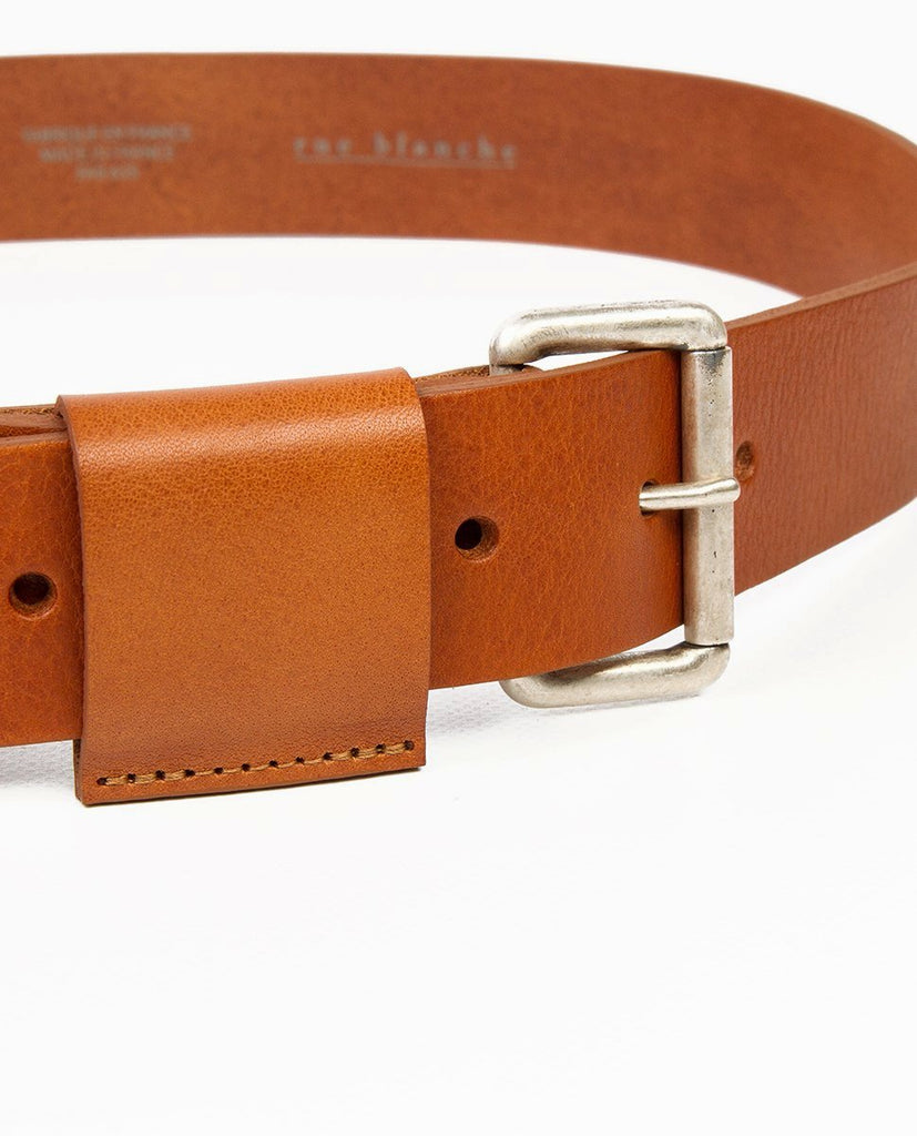 Leather belt - Rue Blanche