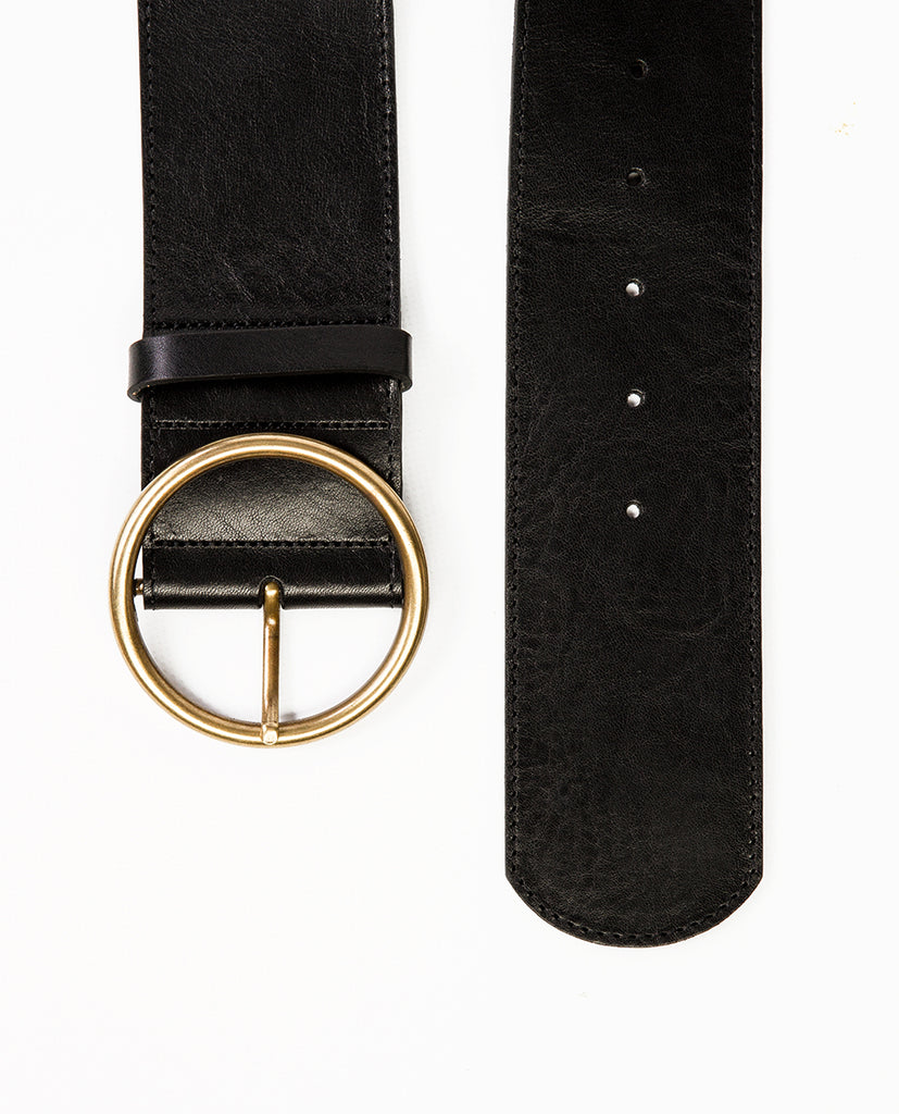Leather belt xl
