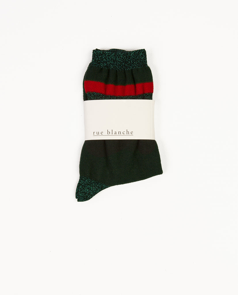 Socks with lurex