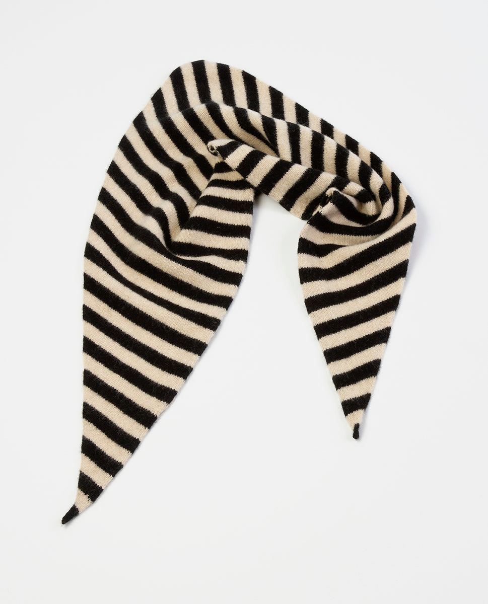 striped neckerchief - Jo Gordon