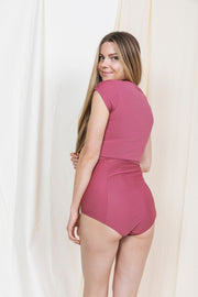 HANNAH BOTTOM mauve