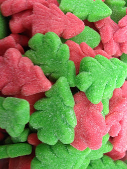 sour christmas trees stocking fillers party treats - JKR Trading