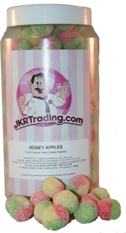 Rosey Apple Sweet Jar Gift Jar - JKR Trading