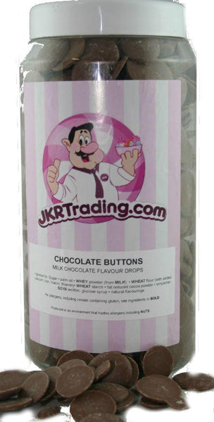 Chocolate Drops Sweet Jar A Gift Jar Full Of Chocolate Drops - JKR Trading
