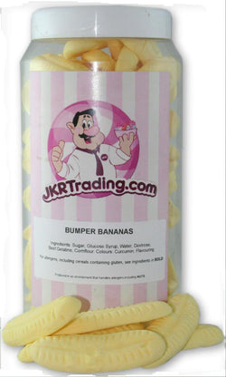 Bumper Banana Sweet Jar A Gift Jar Full Of Bumper Bananas