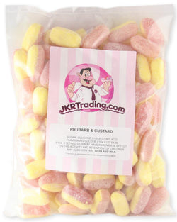 Rhubarb And Custard 1kg Sharebag - JKR Trading