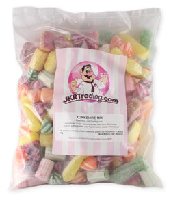Yorkshire Mix 1kg Value Share Bag Selection Of Boiled Sweets