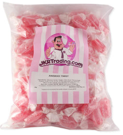 Aniseed Twist Aniseed Twists 1KG Value Share Bag - JKR Trading