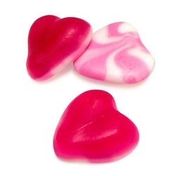 Red And White Jelly Hearts  From 100Grams - JKR Trading