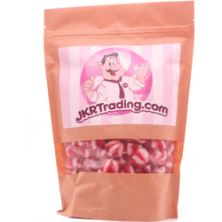 Strawberry Twist Kisses Sweets Pouch Strawberry  Flavoured Jelly Sweets
