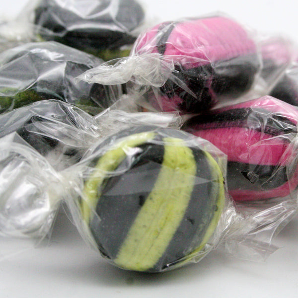 Liquorice Assortments Hard Boiled Wrapped Liquorice Sweets Of Various Flavours