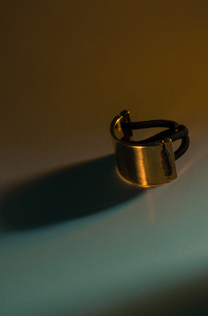 Pony Cuff in Brass