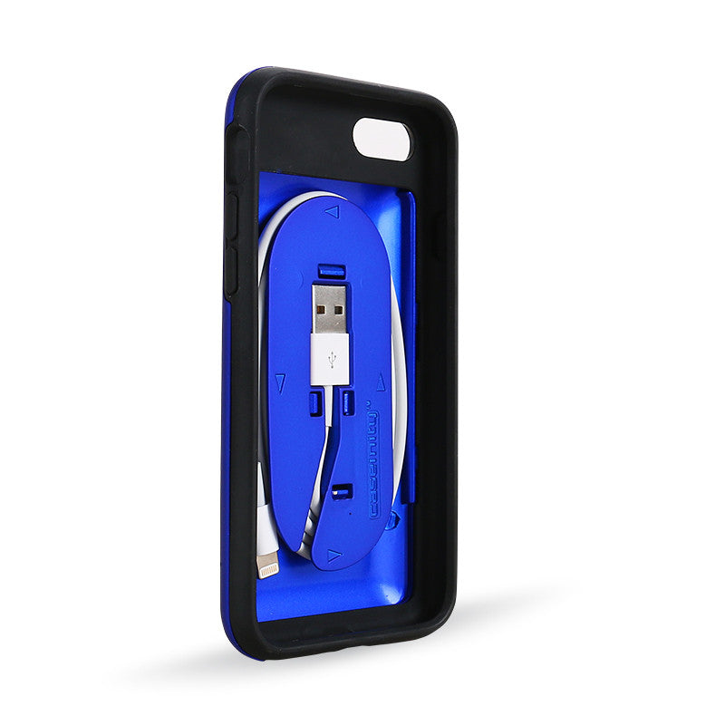 CORD ON BOARD™ 2.0: Case with Cord - Blue
