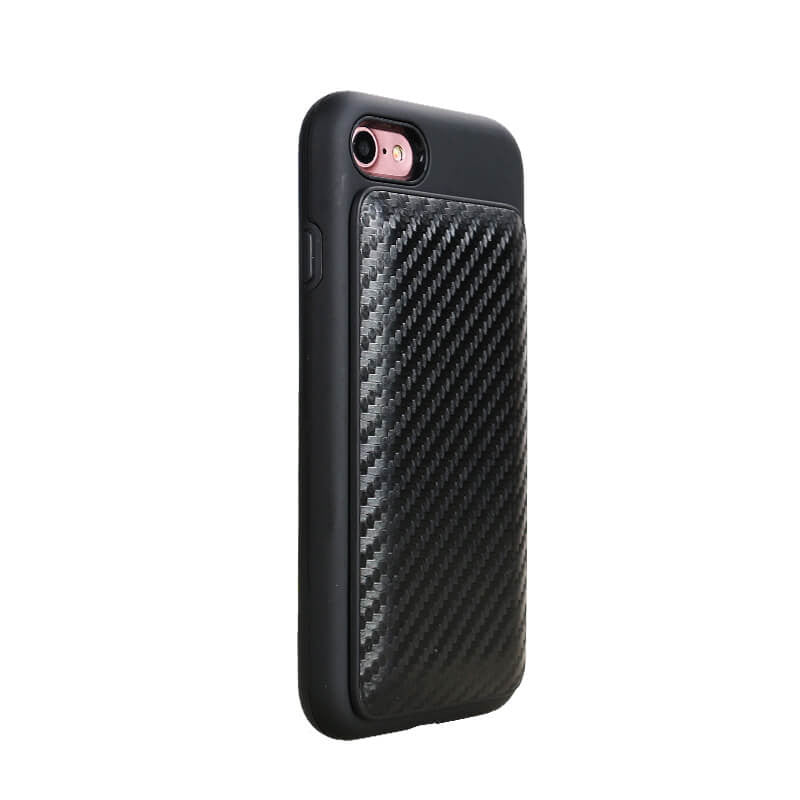 CORD ON BOARD™ 2.0: Case with Cord - Carbon Fiber
